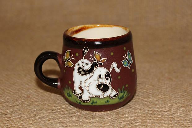 """Чашка кофейная (125мл) """"Пес веселун"""""""