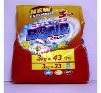 Порошок д/стирки BOND color 3 кг(8594010050817)