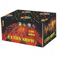 """Салют на 120 выстрелов """"EXTRN SHOW Экстра шоу """" купить оптом в Одессе не дорого со склада"""