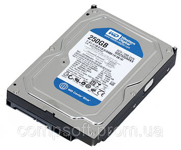 Жесткий диск Western Digital 250GB WD2500AAKX SATA 6Gb/s, 7200rpm, 16MB, Caviar Blue