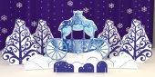 Набор - Замок Снежной Королевы