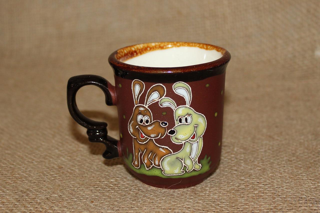 """Чашка кофейная 150мл """"Веселые собачки"""""""