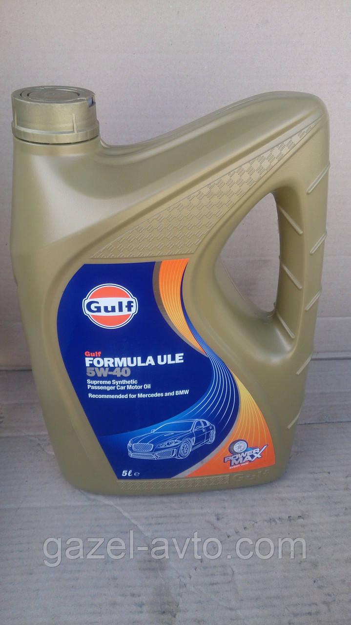 Масло моторное GULF Formula ULE 5W-40 5л