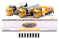 Строительная техника метал-пластик (коробка 6шт.) /96-2/(2211-6)