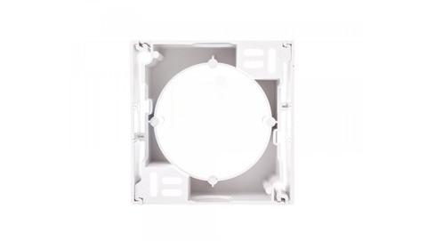 Коробка для наружного монтажа Sedna (белый)