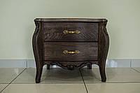 Тумбочка BAROQUE из Дуба  дубовая мебель для спальни