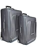 """Комплект чемоданов бизнес класса фирмы """"CCS"""" dark brown 2в1 на 2-х колесах, фото 1"""