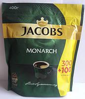 Кофе JACOBS Monarch, растворимый, 400 г (обновленная упаковка)