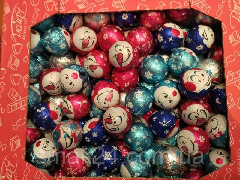 Шоколадные конфеты с фруктовыми наполнителями Baron 16 г