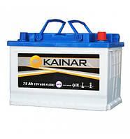 Аккумулятор 75Ah-12v KAINAR Asia (258x173x220),L,EN640
