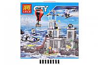 """Конструктор Lele 39016 (аналог Lego City 60130) """"Остров-тюрьма"""", 830 дет."""