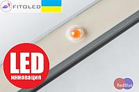 Фито LED Светильник широкоспектральный 16Вт 95см 400-730нм (Эквивалент лампы OSRAM FLUORA T8) IP67 220V