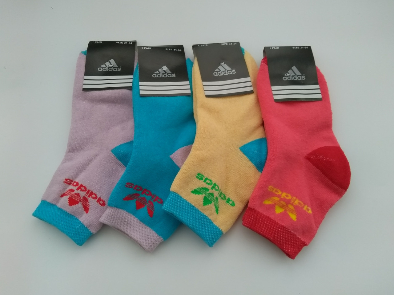 Дитячі спортивні махрові шкарпетки Adidas