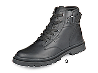 Мужские кожаные зимние ботинки ТМ Мида 14155