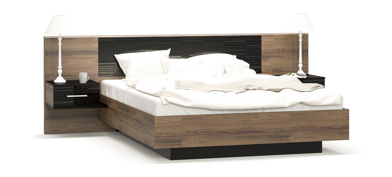 Кровать+ тумбы Фиеста Мебель-сервис