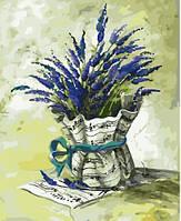Рисование по номерам Картина серии Букет, Мелодия прованса, Идейка, Мелодія провансу (KH2036)