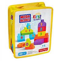 """Конструктор """"Строй и учись считать"""" MEGA BLOKS DLH85"""