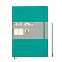 Блокнот Leuchtturm1917 Мягкая обложка Средний (B5) Изумрудный в Линейку (17,8х25,4 см) (355294), фото 1