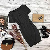 Изящное платье-футляр Atmosphere с юбкой-тюльпан на запах   DR4480