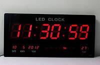 Цифровые настенные часы Led-3615