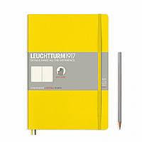 Блокнот Leuchtturm1917 Мягкая обложка Средний (B5) Лимонный с Чистыми листами (17,8х25,4 см) (355287), фото 1