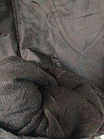 Штанишки детские на флисе черного цвета ХИТ ПРОДАЖ