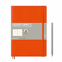 Блокнот Leuchtturm1917 Мягкая обложка Средний (B5) Оранжевый в Линейку (17,8х25,4 см) (349278), фото 1