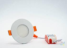 Светильник встраиваемый светодиодный круглый 3w Feron AL510 OL 4000К