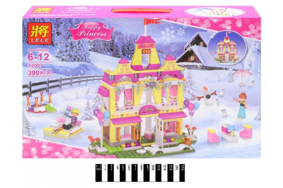 Конструктор Lele 37007 - LELE Disney Сверкающий замок принцессы Анны, 390 дет.