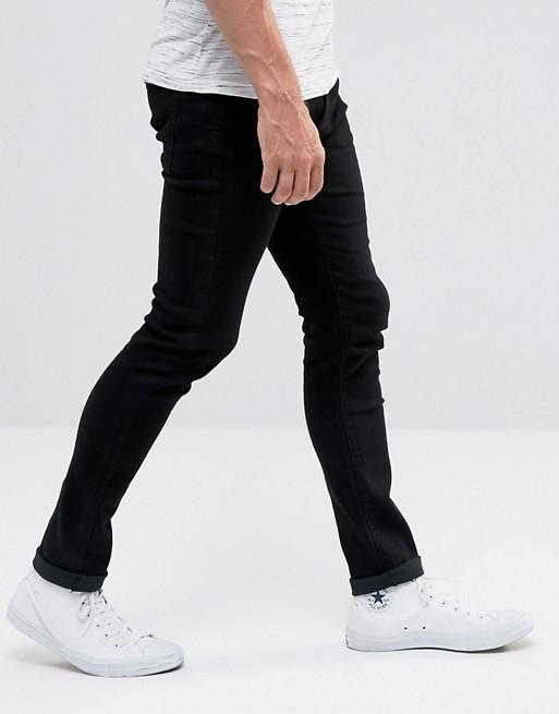Джинси D-Struct - Black Skinny Jeans ALM (мужские узкие черные джинсы) ceee75f71d38a