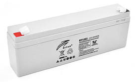 Аккумуляторная батарея AGM Ritar RT1223 Gray Case, 12V 2.3Ah Q10