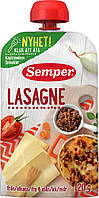 Овоще-мясное пюре Semper Лазанья с 8 месяцев 120 г
