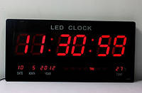 Цифровые настенные часы Led-3615 (меню на английском языке)