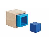Сортер-вкладыш Кубики Plan Тoys (5375)