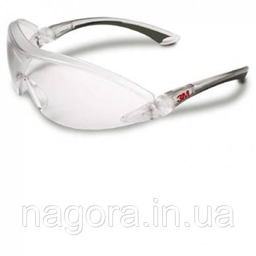 3М 2840 Защитные очки с козырьком , комфорт, прозрачные