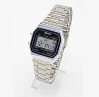 Мужские (Женские) кварцевые наручные часы SKMEI 1123 Old School, серебристого цвета