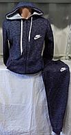 Спортивный костюм мужской зима на флисе с капюшоном