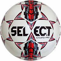Мяч футбольный SELECT CAMPO PRO бело/красный размер 4