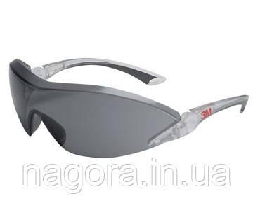 3М 2841 Защитные очки с козырьком , комфорт, темные