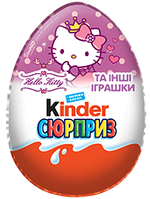 "Киндер Сюрприз серия ""Хеллоу Китти"" Hello Kitty"
