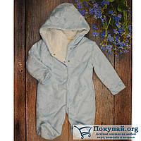 Тёплый спальник для мальчика Размеры: 3,6,9 месяцев (5767-2)