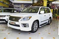 Обвес на Lexus LX570 2013-
