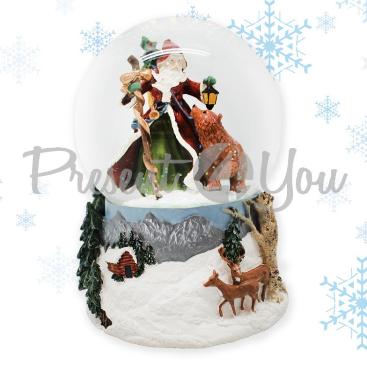 Фигура-шар музыкальный«Jingle Bells», 15х10 см (263-5018MP)