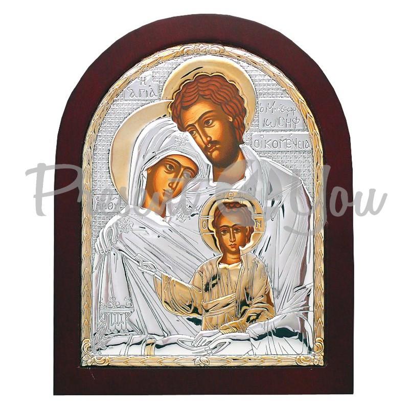 Икона Святое Семейство, 20х25 см