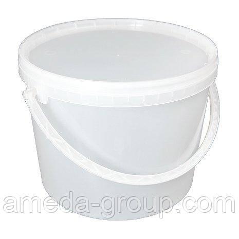 Ведро пластиковое пищевое 10 л