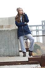 Зара. Женская куртка больших размеров. Синий. 52