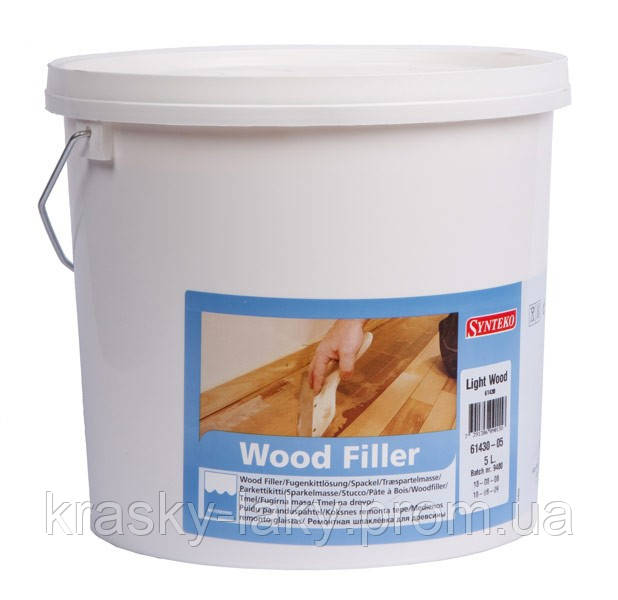 Шпаклевка для паркета SYNTEKO WOOD FILLER  экзотик, 5л