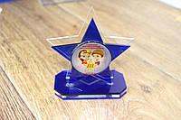 Акриловые награды под заказ с УФ печатью. Награда из оргстекла. Кубки, сувениры