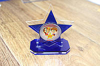 Акриловые награды под заказ с УФ печатью