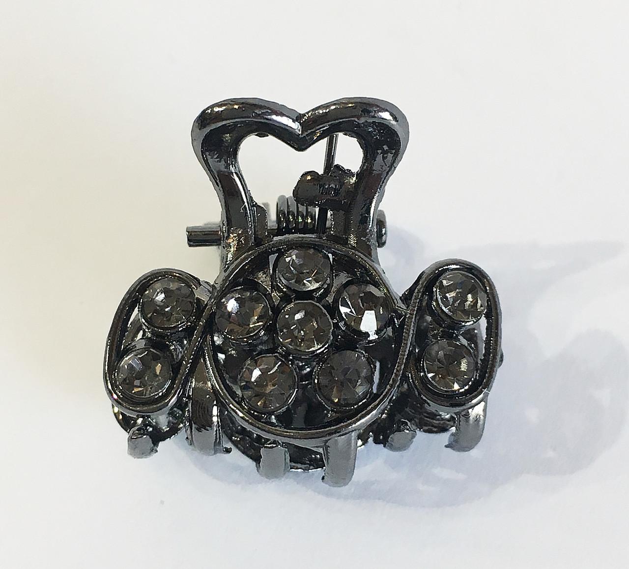 Заколка краб металл мини Дели ( упаковка)
